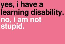 Dyslexia and Dyspraxia / I deal with both of these co-morbid conditions on the Autism Spectrum