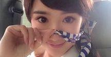 ※pinterest cute / 童小芯 /Tong Xiao Xin ・Momo /