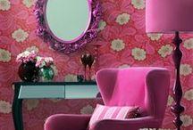 Inspiração de Decoração de Ambientes em tons Rosa / Pink