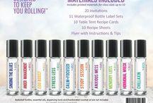 Rollerball Blends / Essential Oil Rollerball Blends
