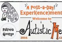 Autistic Me 2016 January / To accompany my daily project for www.autisticme.ca This is the board for January Posts