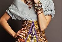 to wear / My ultimate style, as it evolves. Bright colors, gem tones, motorcycle chic, sparkles, organic cotton, plus size fashion, linen, women's scarves, bohemian outfit inspiration, and comfortable style.