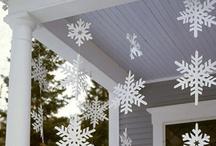 HOLIDAYS-SNOW THEME IDEAS I LUUUV