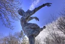 Leo Mol ~  Bronze Sculpture Garden / Art  /  Leo Mol ~ Bronzes / by Andrea Chaput