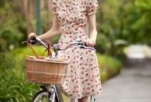 bicycles...