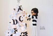 Noël / Christmas / La fin d'année approche, il est temps de passer à l'heure des fêtes. Par petites touches de décorations, votre intérieur sera plongé dans la magie de Noël !