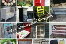 Projects from My Repurposed Life / Great repurposed furniture items, easy projects, furniture makeovers, and upcyling projects.