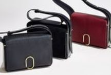 3.1 ALIX HANDBAG COLLECTION / Meet the new office romance...the ALIX handbag collection. Finding beauty in the ordinary, ALIX features signature hardware inspired by the office paperclip and staple. #31ALIX    Available for purchase: http://bit.ly/1NaGmuQ / by 3.1 Phillip Lim