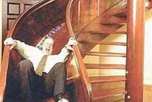 Cool Stairway Designs / Utilizing Staircase Spaces in the Most Interesting Ways! / by OKDecor.com