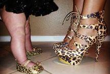 Leopard &Jaguar print! / No cheetah.know the difference / by Jenee Jones