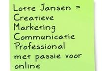 Aanvulling CV Lotte Jansen | portfolio / Dit is een visuele aanvulling op mijn CV. Bekijk hier een greep uit wat ik allemaal gedaan en gemaakt heb.  Bekijk mijn profiel op LinkedIn voor meer informatie over mijn werkervaring en contactgegevens: http://www.linkedin.com/in/lottejansen