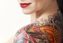 Tattoos & Aftercare / Tattoos we love and great aftercare products.