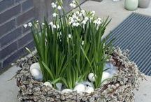 jarní a velikonoční výzdoba/spring and easter decor