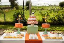 > sweet table < / Inspiratie voor jouw perfecte sweet table. Leuk voor een verjaardagsfeestje of een bruiloft.