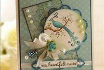 Cards: Die Cut Cards / Tutorials / by Adrianne Everhart