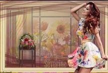 PSP/ Photoshop CC / Paint Shop Pro en Photoshop creaties