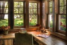 Writing Nooks & Inspiration / Cozy spaces & inspiring images for writing