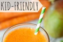 Kids Recipes / These recipes are fun, healthy, and a great way to engage kids in the kitchen!  / by One I Love