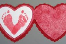 Valentines Day Goodies / Fun Crafts, Gift Items, & Recipes to celebrate VDay with the little one you love!  / by One I Love