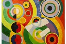 Visual Elements of Art - Color / This selection of artworks has been chosen because they all use color in an inspirational manner.