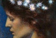 Pre-Raphaelite & Belle Epoch Art / Cool 19th Century Art
