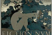 Art Nouveau / Art Nouveau illustrations and paintings