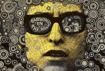Psychedelic Poster Art / Pschedelic Rock Posters etc