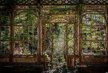 Abandoned Derelict Ruins / Derelict places
