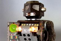 Vintage Robots / Classic Vintage Toy Robots