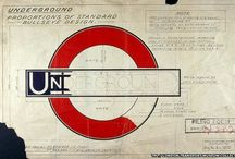 London Underground Art / Iconic London Underground Related Design