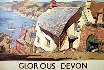 Vintage British Rail Travel Posters / Golden Era railway posters