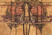 Margaret Macdonald Mackintosh / Arts & Crafts Designer