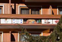 Adventskalender / Heuer NEU: Adventskalender im Hotel Almrausch**** - unsere Künstlerin Dora war sehr kreativ...  www.almrausch.co.at