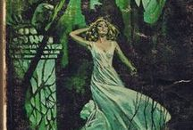 Gothic Romance Books / Romantic suspense novels from the 60s and 70s. The genre of women running away from houses.