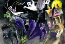 Halloween / Halloween:  cards/postcards, paintings, illustrations, photography, etc -- vintage & modern / by dachweiler