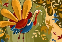 Thanksgiving / Thanksgiving art, illustrations, vintage cards, etc... / by dachweiler