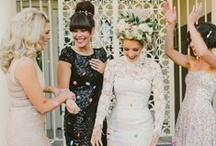 inspiRation: spaRkle & shine / styles that i love. for weddings.