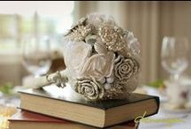 Paper Flowers, Button Bouquets & Everything In-between! / A collection of flower inspired paper creations