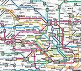 Japan Traffic, Train, Bus / Taxi, Train, Shinkansen Express, Airplane in Japan.