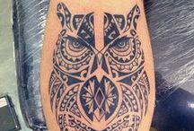Tattoos - Maoris, Maias, Incas e Astecas / Trabalhos assinados por Cris Maia