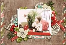 Scrap: Christmas / Christmas holiday scrapbooking inspiration
