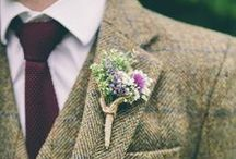 Need for Tweed / Tweed inspiration. Suits for the vintage-inspired gentleman who wants to make a statement.