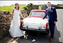 Past Clients - Maura & Paul / Maura & Paul's wedding; #HugoBoss navy blue suit #MaleStyle #MaleFashion #MensStyle #MensFashion #SavilleWeddings #TailoredSuit