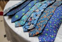 Saville Ties / Add that finishing touch of class to your formal look with one of our luxurious ties. Available in over 1,000 colors, patterns and fabrics. #MensFashion #MaleStyle #MaleFashion #MaleStyle #SuitUp