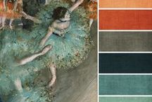 Accent, Art & Craft Paint Palettes / Find the perfect colors for your art work, craft projects and room accents.