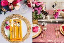 Tafel Deco Tips / Leuke tips om je tafel gezellig te decoreren. Laat je inspireren en creëer je eigen persoonlijk gestijlde tafel!