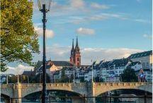 Basel - Baselland / Die drittgrößte Stadt der Schweiz gilt auch als Kulturhauptstadt des Landes. Denn hier können Sie die Kunst beim Flanieren bewundern oder auch im Museum.   www.schoene-aussichten.travel/region/basel