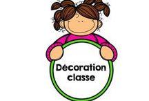 Décorations classe