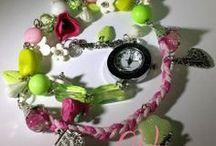 Creatiile mele/My creations / Bijuterii, ceasuri si alte accesorii handmade  Creatii unicat/ Jewelry, watches and other handmade accessories Unique creations