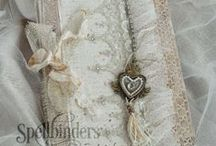 Altered Books and Lace Journals
